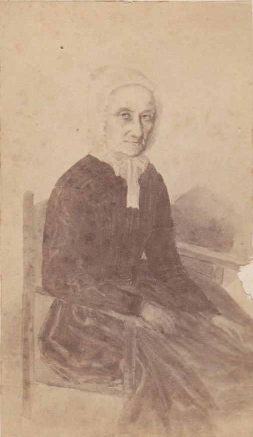 Káin Antalné szül. Walde Aloysia  Élt: 1803-1886.