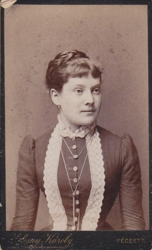 Mányay Imréné Grof Sarolta Margit szül: Tárnok 1866.04.