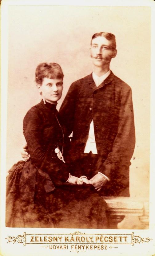 Kerbolt Ferenc és felesége Grof Ilona