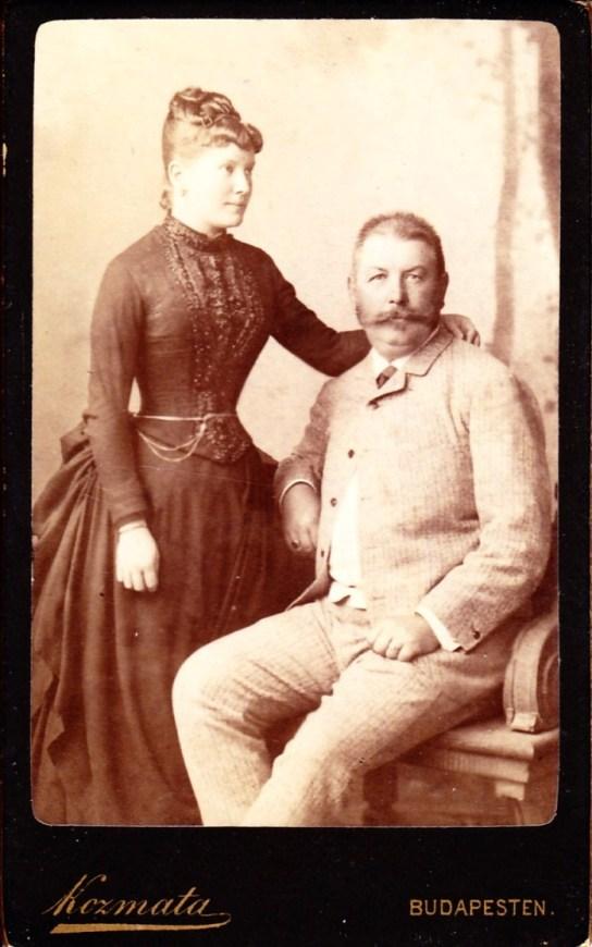 Mányay Imre és felesége Grof Sarolta Margit